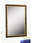 Specchio in cristallo lavorato a mano - Doralice