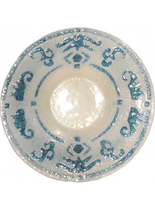 Piatto ispirato ai motivi ornamentalitradizionali dell'artigianato sardo