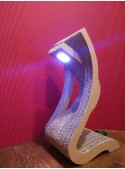 Ecodesign table lamp in cardboard High Touch