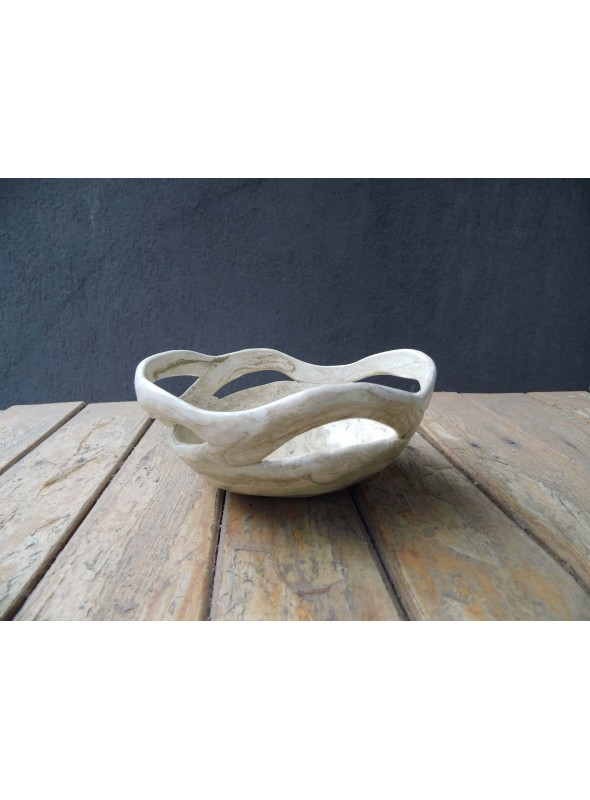 Handmade decorative bowl or candle holder - Legami