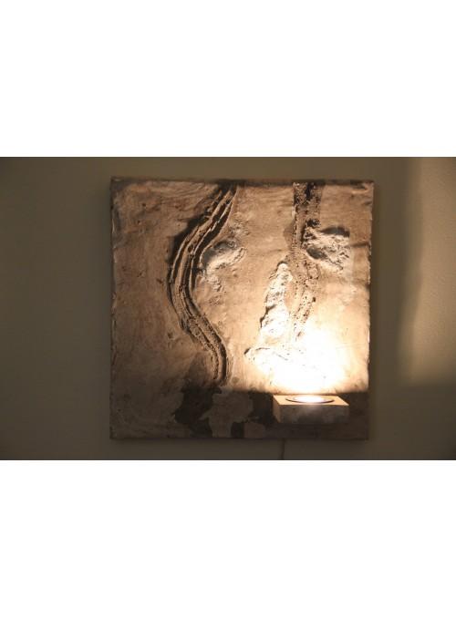 Lampada da parete per una luce d'atmosfera - Faces