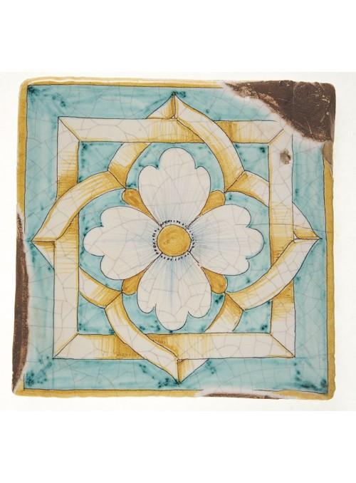 Set of earthenware polished tiles - Elba (A)