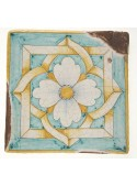 Set of earthenware polished tiles - Elba (A)