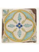 Set of earthenware polished tiles - Elba (B)