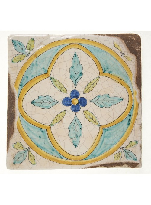 Set of earthenware polished tiles - Elba (B)