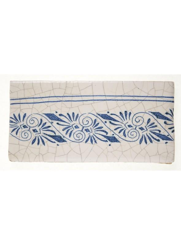 Set of earthenware polished tiles - Line (B)