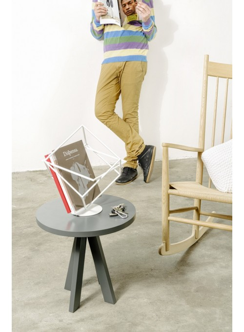 Modern design magazine rack in iron - Who's next
