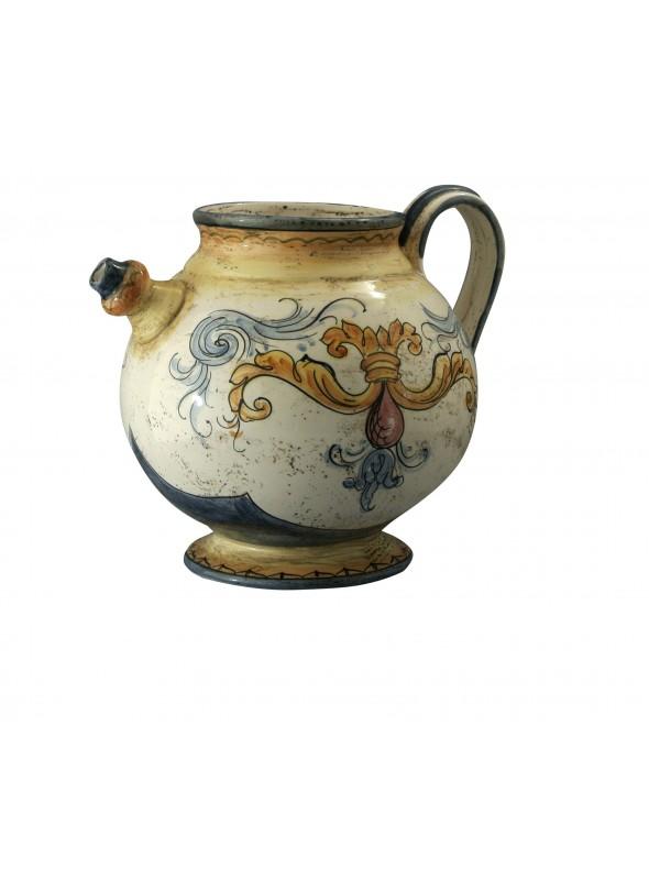 Brocca per acqua in ceramica di stile classico