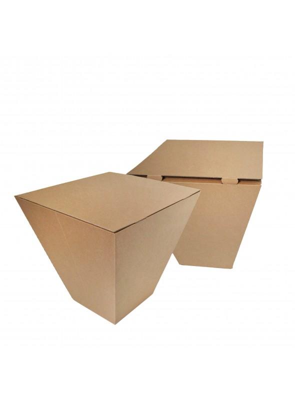 Ecodesing table in cardboard - Fred