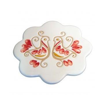 Sottopentola in ceramica - Margherita