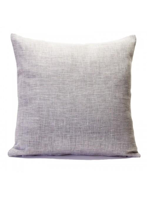 Federa in lino per cuscino da salotto