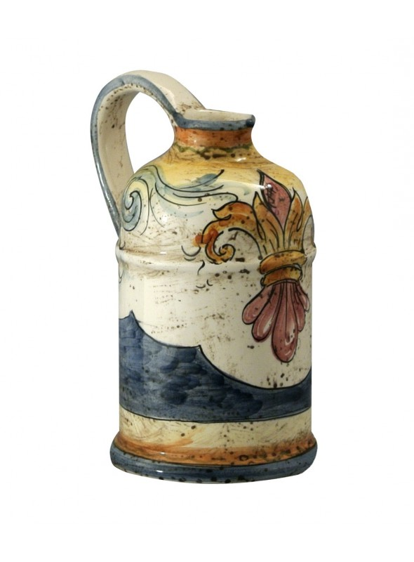 Brocca alta per acqua in ceramica di stile classico
