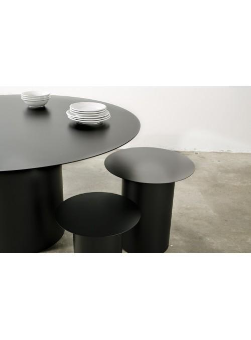 Sedia con seduta circolare in ferro - Chiodo NA4