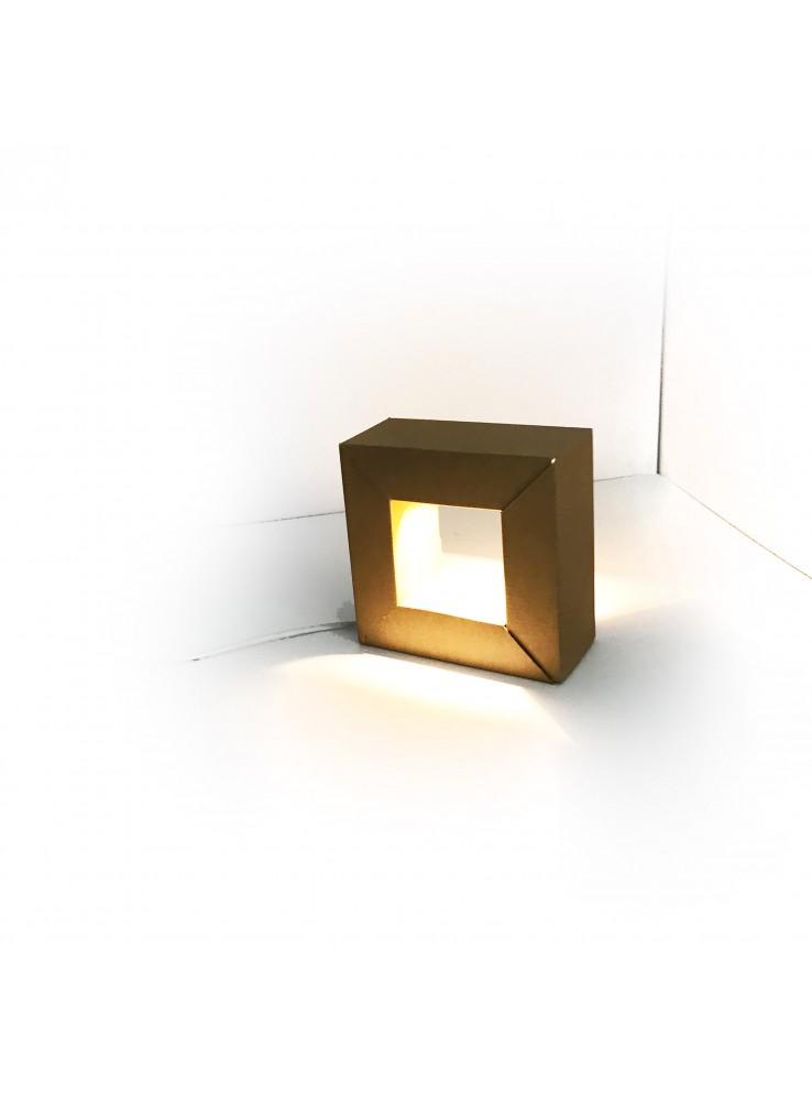 Lampada a LED di ecodesign in cartone - Modello Audrey