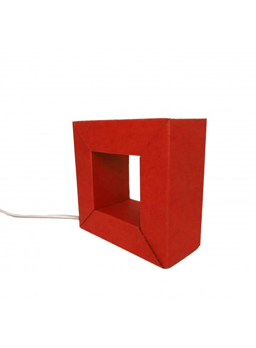 Ecodesign LED Cardboard Lamp - Audrey