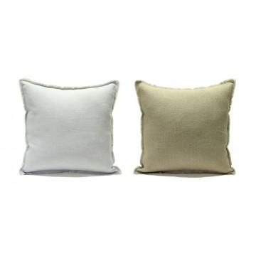 Double face linen pillow cover