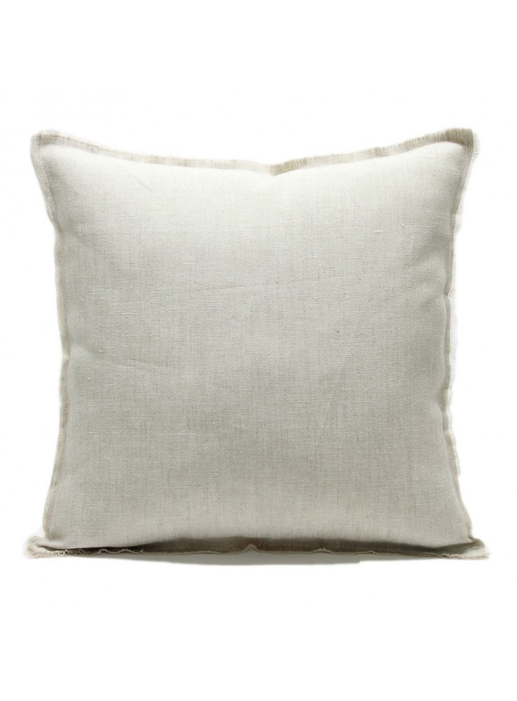 Double face linen pillow cover