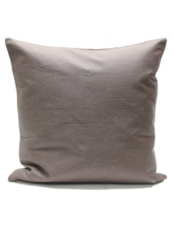 Double face pillow cover in noble linen