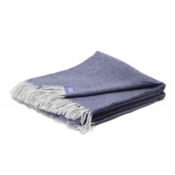 Plaid Melange in lana calda disponibile in diversi colori