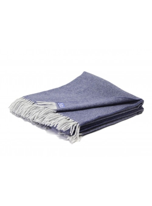 Melange wool blanket in different colours