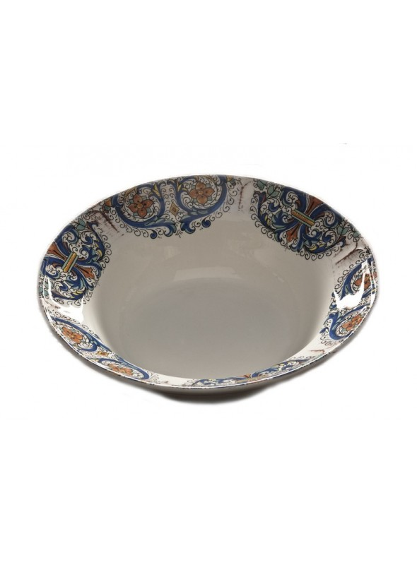Insalatiera in ceramica in quattro diverse fantasie