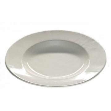 Piatto da portata moderno rotondo in ceramica