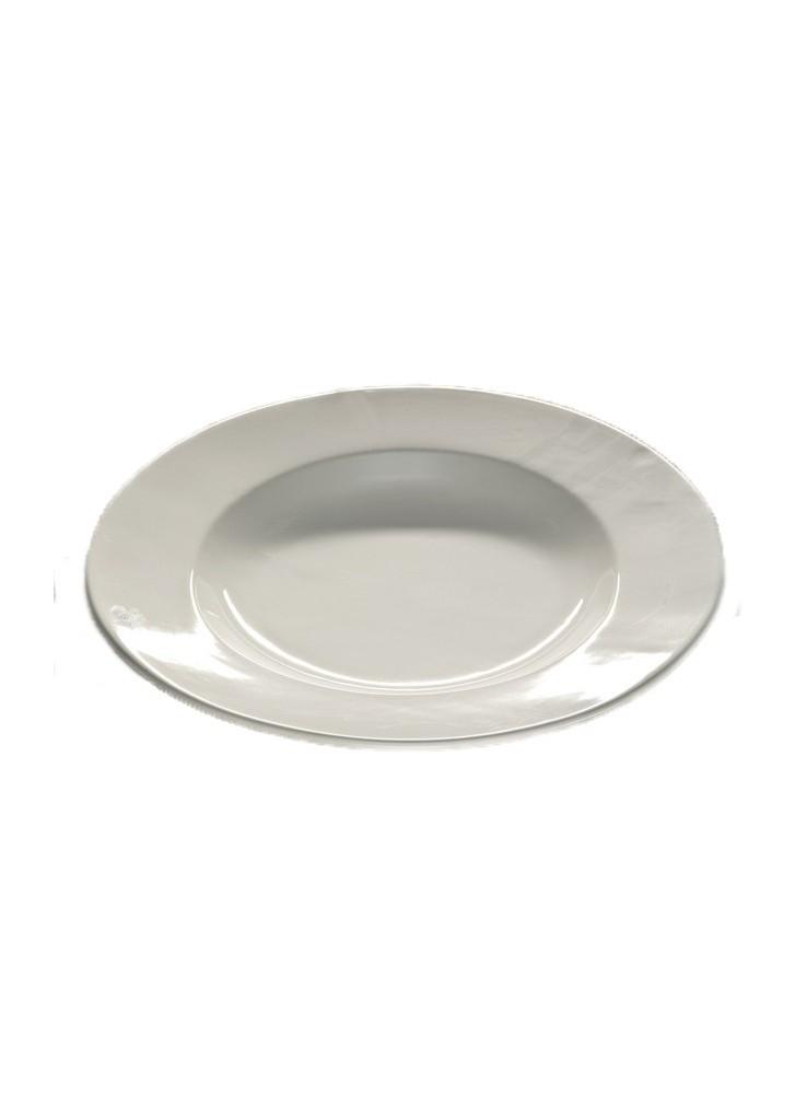 Piatto da portata moderno rotondo in ceramica lavorata a mano - Piatto da portata ...
