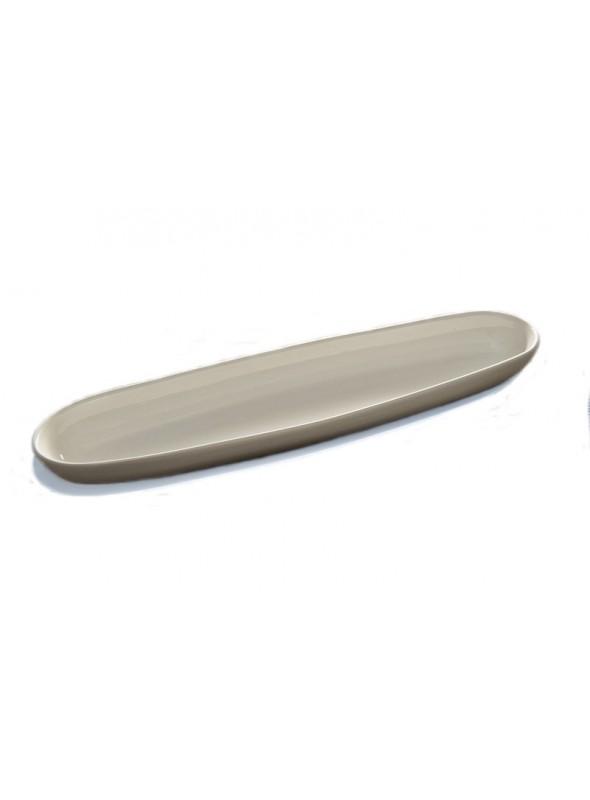 Big baguette serving plate in ceramic