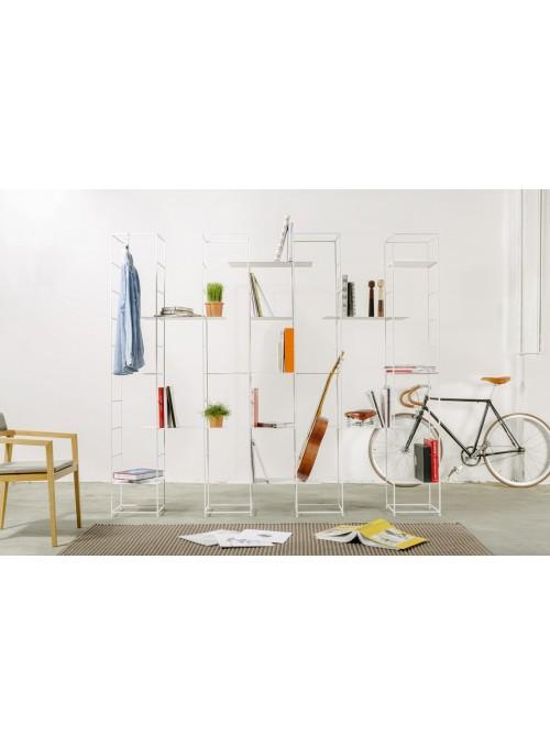 Elegant design bookcase in iron - La supermodulare