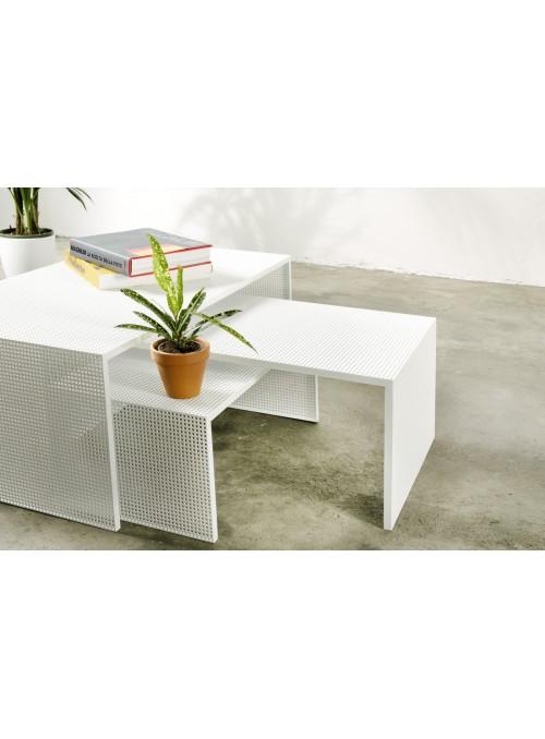 Elegante soluzione multifunzionale di tavoli in ferro - Dentro
