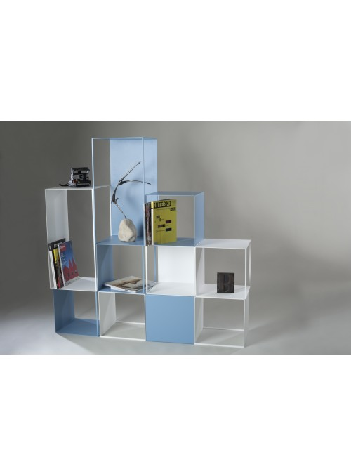 Elegant design multifunctional table and chairs solution in iron - Fun house