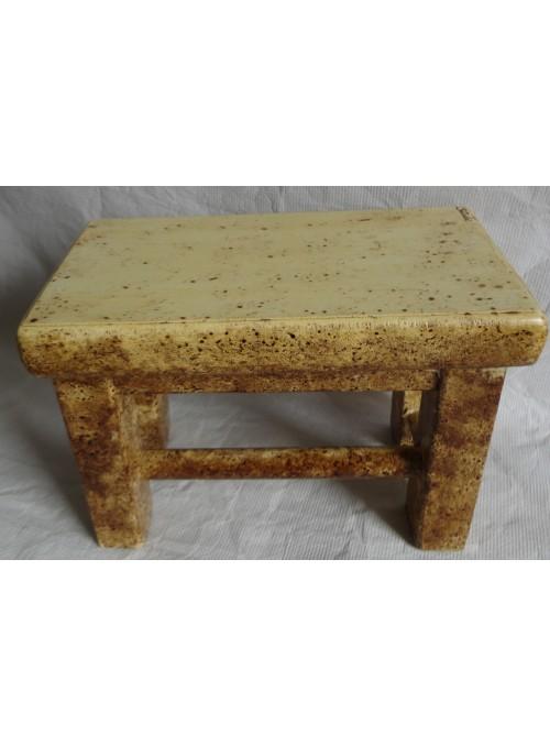 Mini tavolo in legno invecchiato