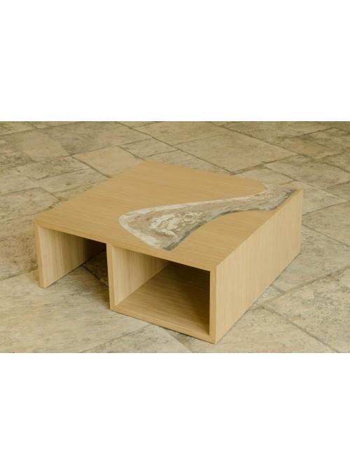 Tavolino a base quadrata - Nastro
