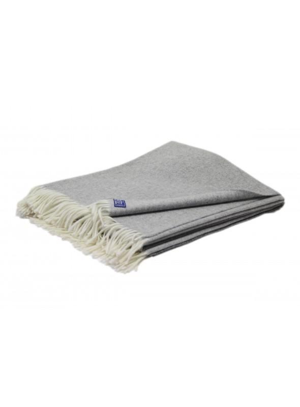Plaid Spigato in lana calda disponibile in diversi colori