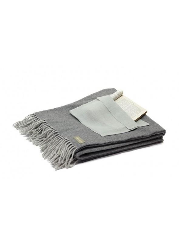 Plaid in morbida lana melange in diversi colori