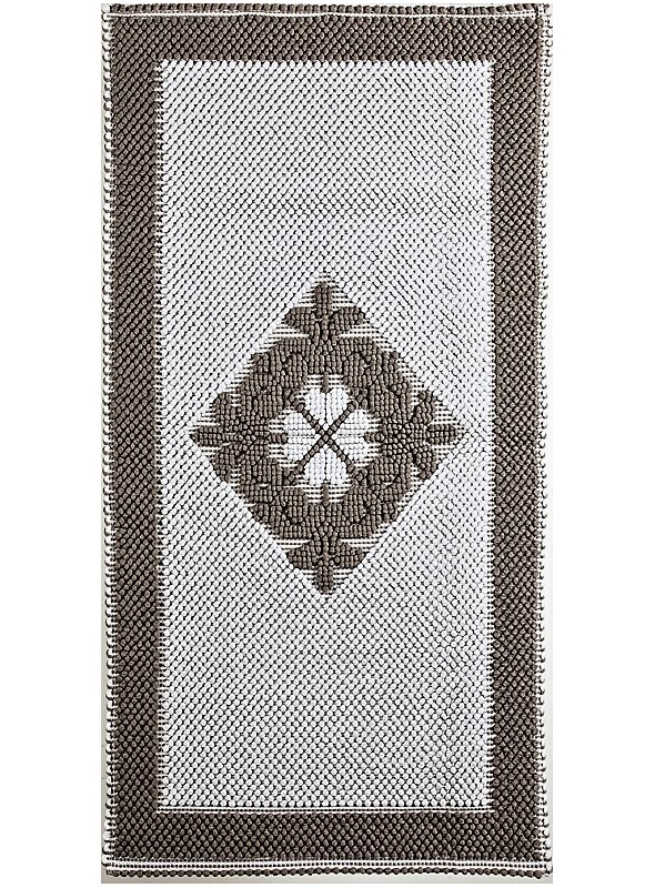Cotton carpet from Sardinian craftmanship