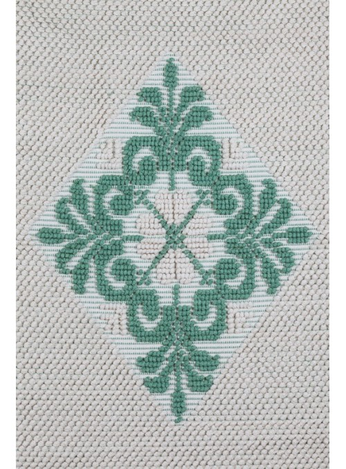 Cotton carpet from Sardinian craftmanship