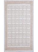 """Cotton carpet from Sardinian craftmanship """"Damina"""""""