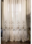 """Embroidered tulle curtain """"Los Angeles"""""""