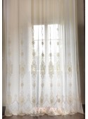 """Embroidered tulle curtain """"Roma"""""""