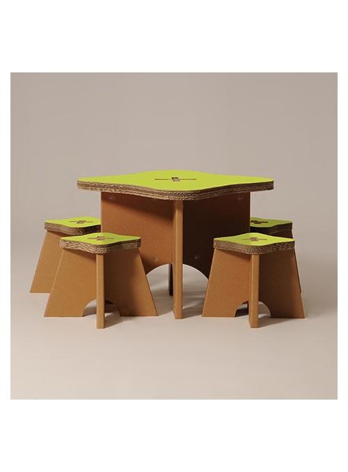 """Tavolo per bambini con sgabelli """"Write"""""""