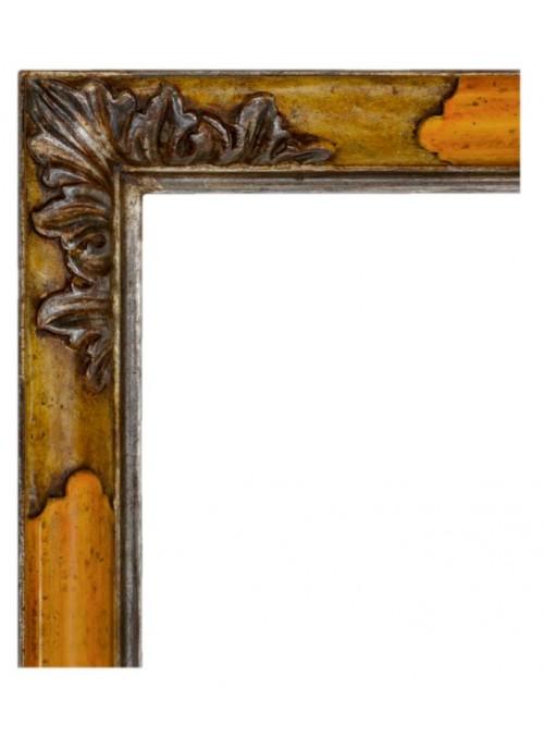 Cornice in legno Sguscio argento