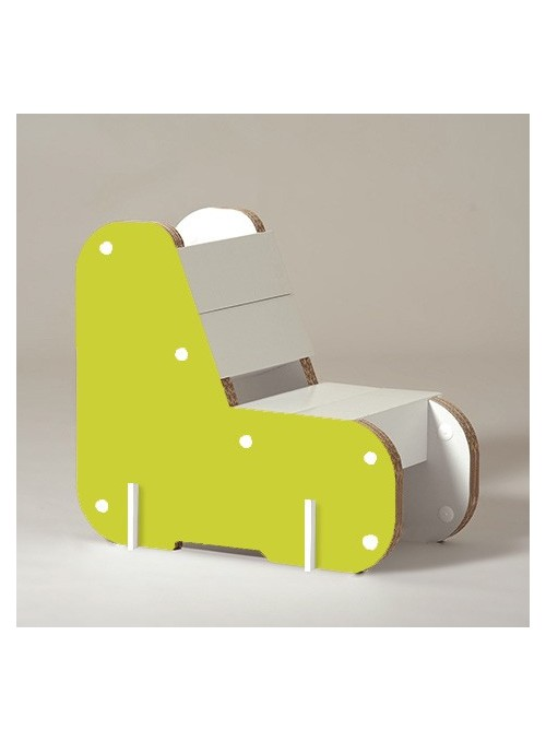 "Children cardboard chair ""Alice"""
