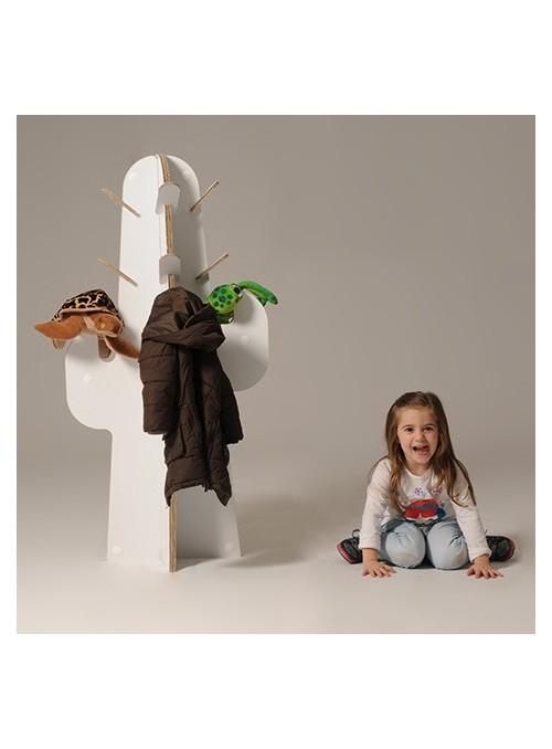 """Kids coat hanger """"Cactus"""""""