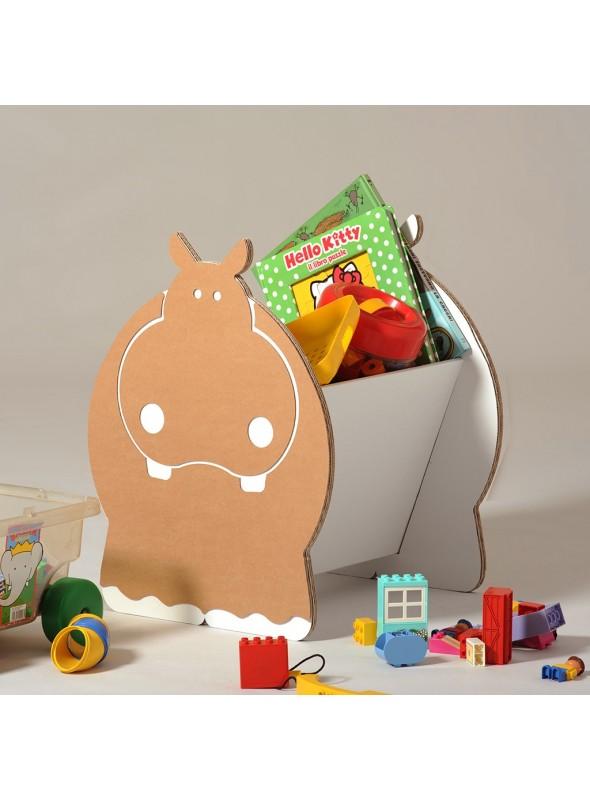 Cardboard toy box