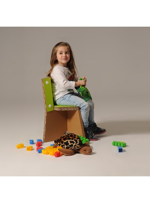 Children small cardboard chair