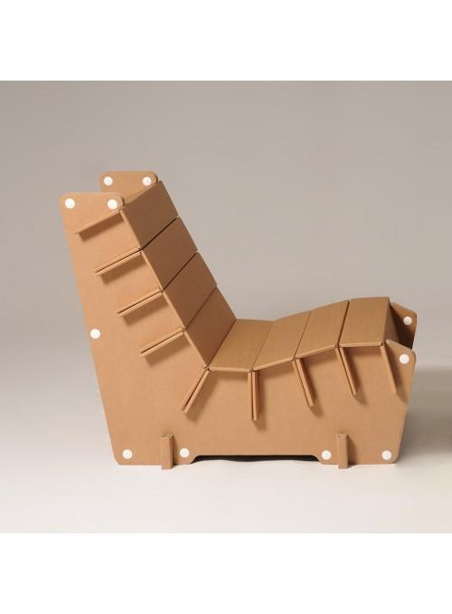 "Cardboard armchair ""Anita"""