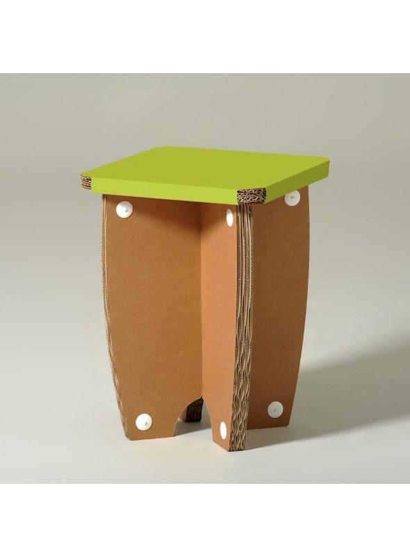 "Cardboard stool ""Mr X"""