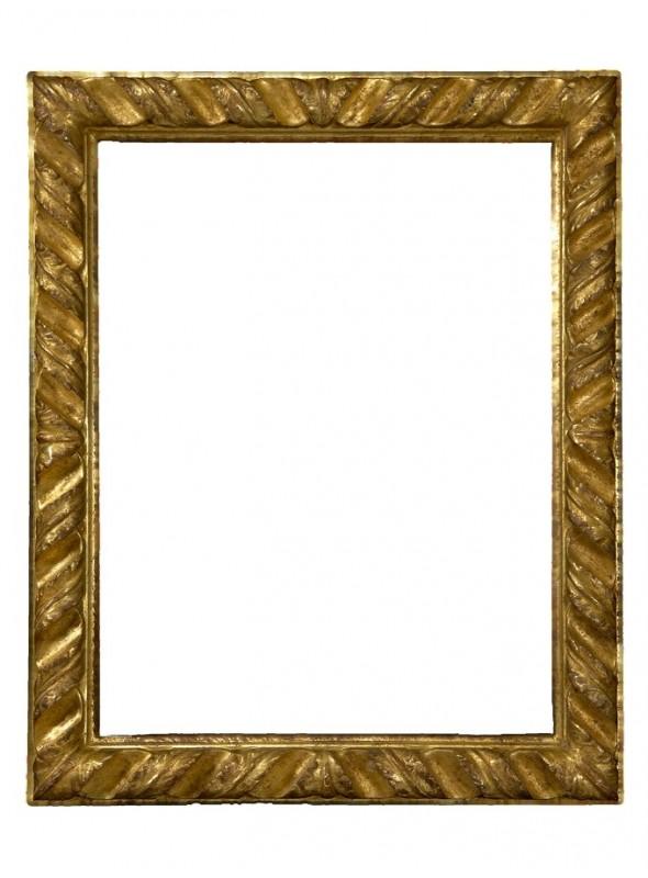 Cornice in legno Rampicante oro