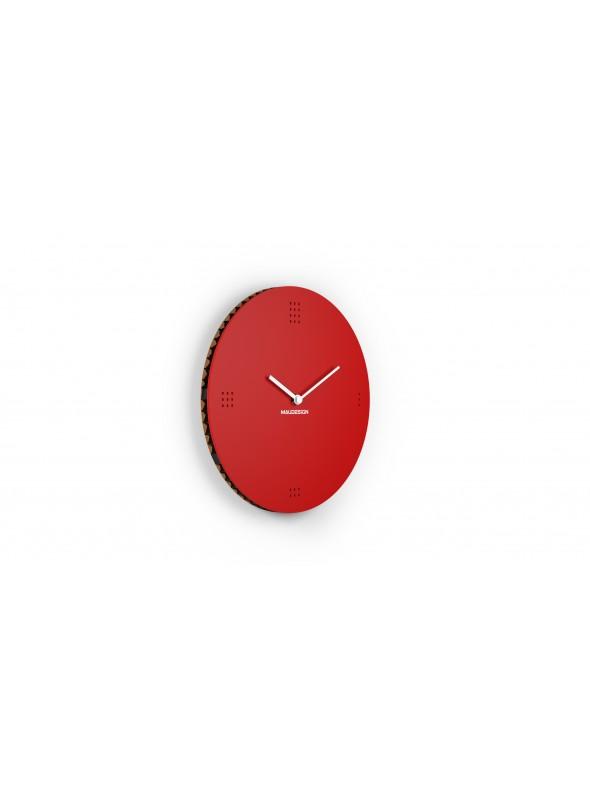 "Cardboard clock ""Dots"""